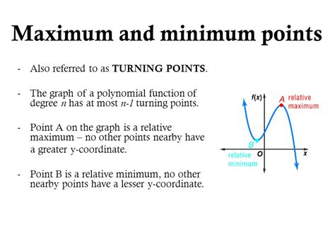 The Turning Point Of My From What Is And Other Essays by 7 2 Graphing Polynomial Functions Ppt