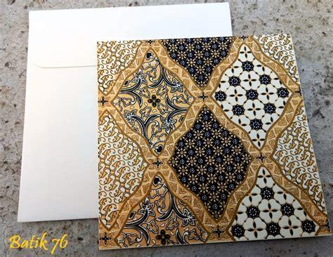 Kartu Ucapan Handmade Batik76 Motif 1 jual kartu ucapan handmade batik76 motif sidoluhur gold size s kartu ucapan batik kartu