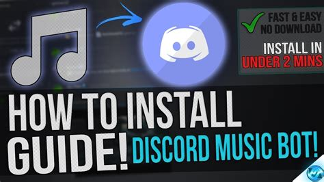 discord youtube music bot how to get a music bot for discord in under 2 minutes