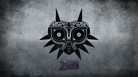 black and white zelda wallpaper majoras mask wallpapers wallpaper cave