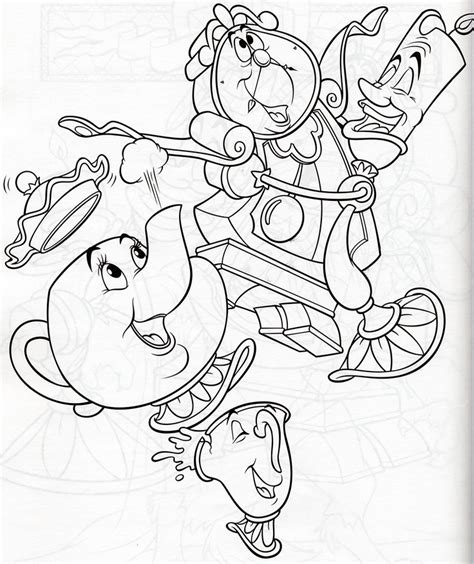 Lumiere Coloring Pages lumiere coloring pages coloring pages