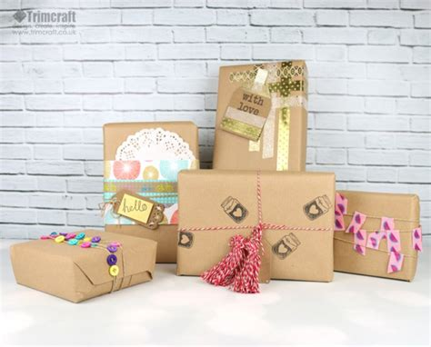 Handmade Wrapping Paper Ideas - diy handmade gift wrapping paper id the craft