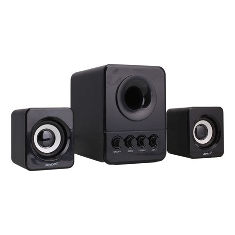 Speaker Laptop Bass multimedia computer pc desktop laptop speakers 2 1 bass with subwoofer ebay