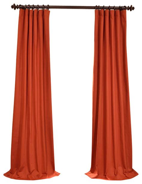 cotton twill drapes bombay rust cotton twill curtain traditional curtains