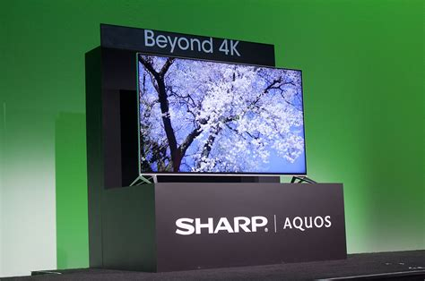 80 Inch Tv 4k by Ces 2015 At Nearly 8k Res Sharp S 80 Inch Beyond 4k Uhd