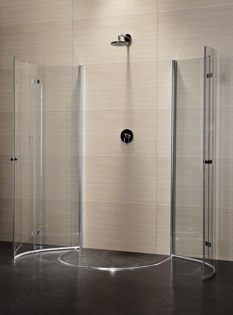 doccia semicircolare box doccia semicircolare in cristallo con porte a battente
