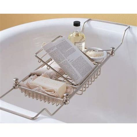 Mercer Bathtub Caddy | amazon com pottery barn mercer bathtub caddy shower