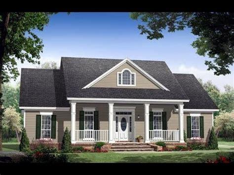 traditional house plan   familyhomeplanscom youtube