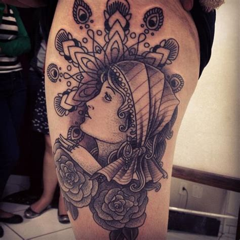 gypsy tattoos designs meanings and traditional ideas