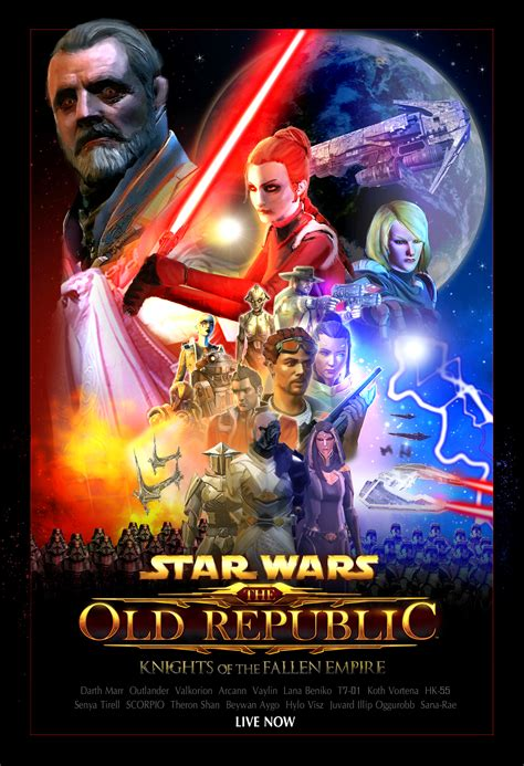 fallen empire film wikipedia look at this beautiful poster for kotfe in tfa style swtor