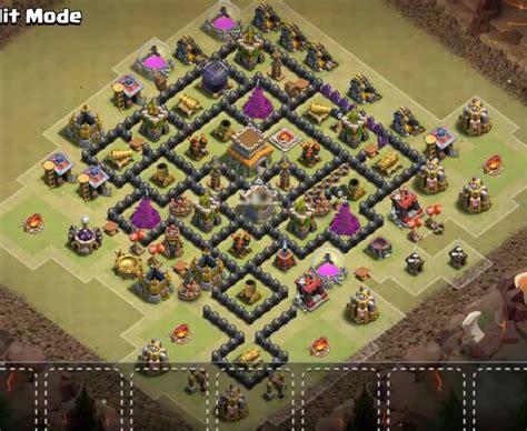 coc war base th8 hd best th 10 coc base war newhairstylesformen2014 com