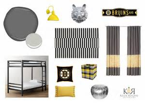 boston bruins bedroom the color of sport interiors for families