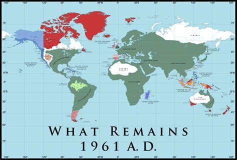 what is a map alternate history weekly update map monday what remains part 2 1961 a d by zek sora
