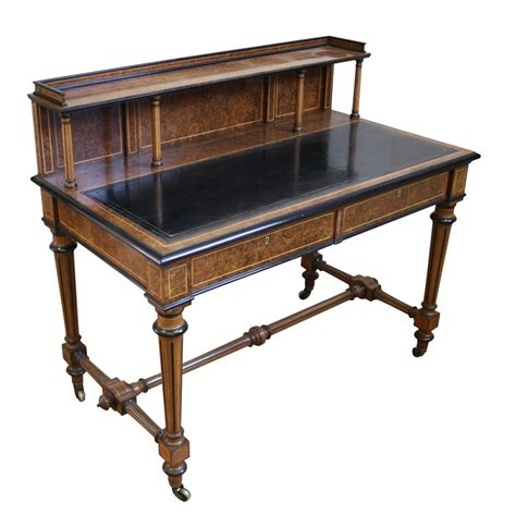 writing desk an antique burr walnut writing desk williams