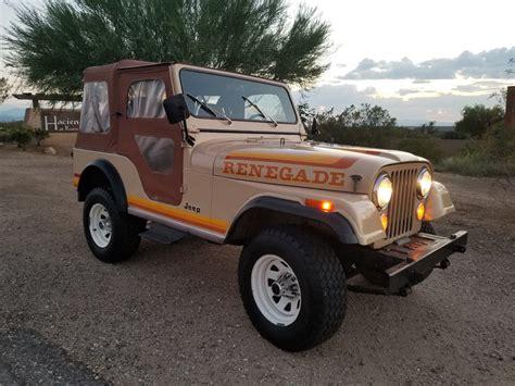 1981 jeep renegade 1981 jeep cj5 renegade na prodej