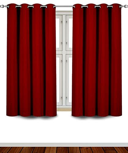 62 inch curtains save 62 blackout room darkening curtains window panel