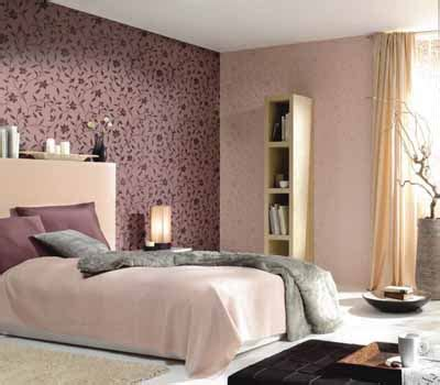 Wall Decorating Ideas For Bedrooms Bright Bedroom Wall Decoration With Modern Wallpaper