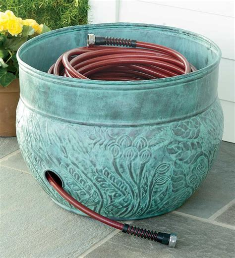 17 best ideas about garden hose holder on - Garden Hose Container