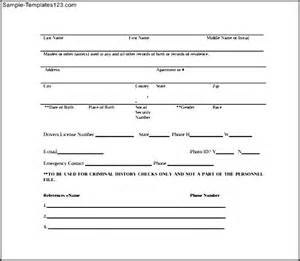 Credit Check Consent Form Template Background Check Authorization Release Form Images