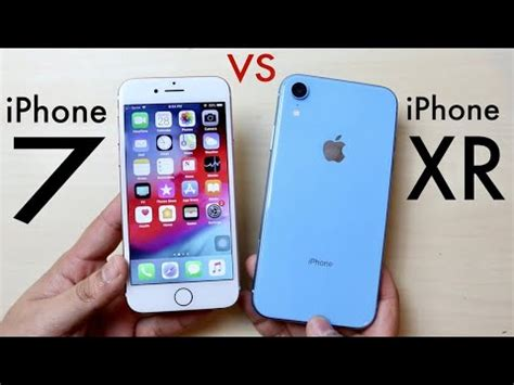 iphone xr vs iphone 7 should you upgrade speed comparison review