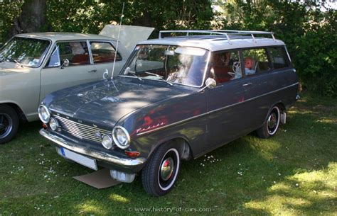 opel kadett 1963 opel 1963 kadett a caravan the history of cars