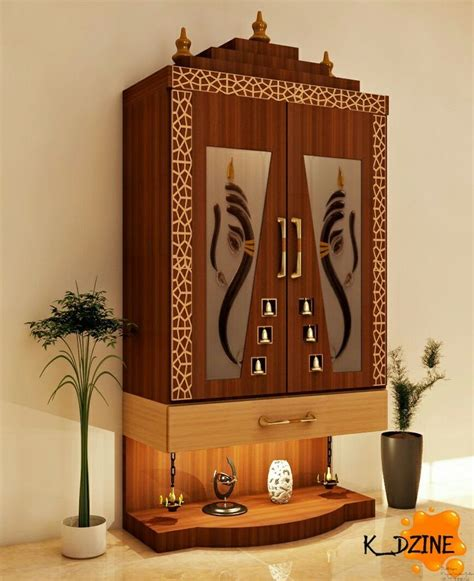 pin  manu  pooja room door design pooja room door