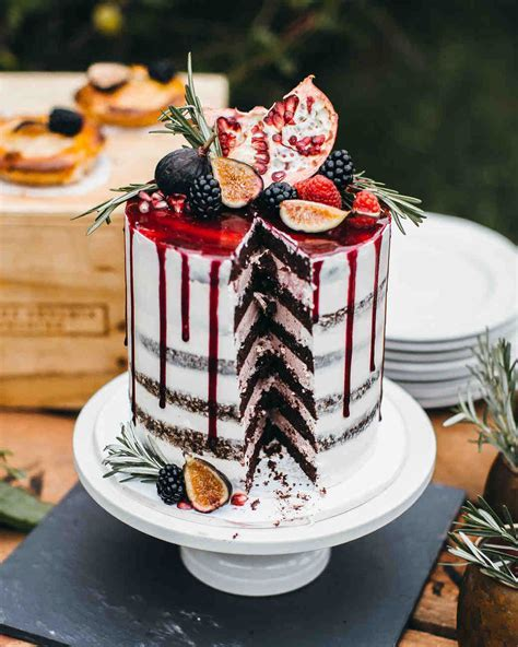 25 New Takes on Traditional Wedding Cake Flavors   Martha