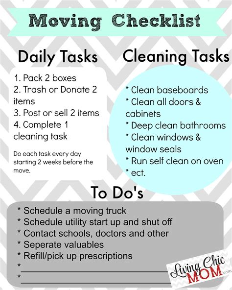 moving into house checklist attractive checklist before moving into a new house 2