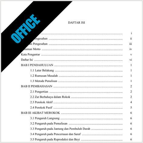 tips membuat daftar isi makalah membuat daftar isi otomatis di microsotf word album