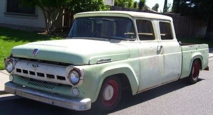 1957 ford f100 crew cab ford trucks for sale | old