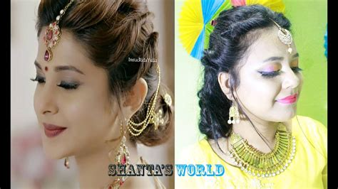simple hairstyles for party in hindi beyhadh jennifer winget s easy bun hairstyle for indian