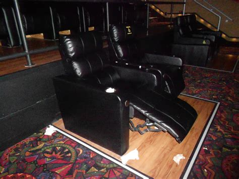 movie theater with reclining chairs large reclining chair at selected regal cinema theaters