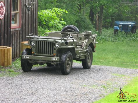 1945 Army Jeep 1945 Willys Mb Army Jeep Gpw