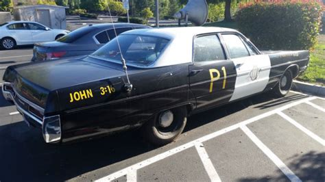 plymouth brothers 1970 plymouth sport fury painted as blues brothers