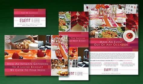 corporate event planner caterer brochure template design graphic design for corporate event planner caterer