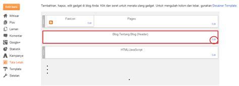 cara membuat header pada cara memasang mengganti gambar header pada blog blog
