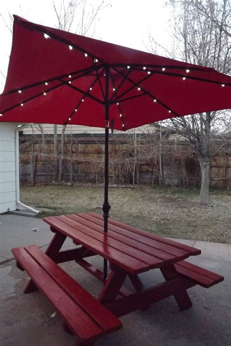 picnic table with umbrella picnic table with umbrella garden home ideas collection