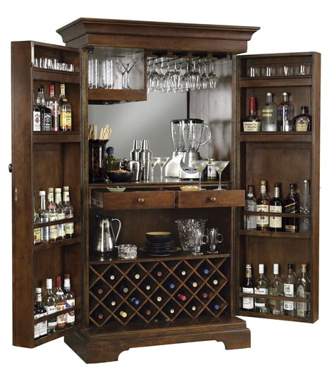 Wine Bar Cabinet Furniture Expressions Of Time Clockshops