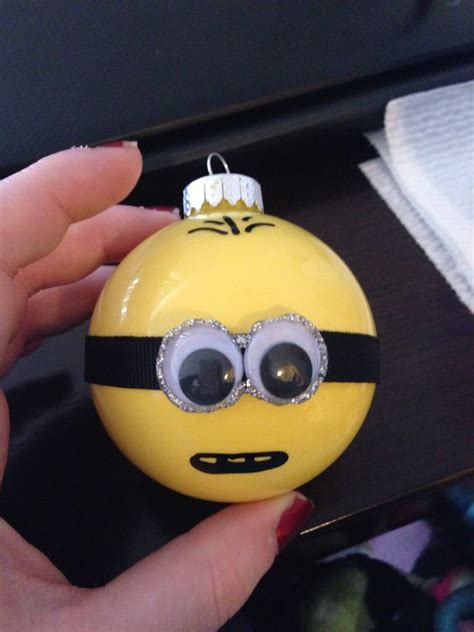 minion ornaments minions and ornaments on pinterest