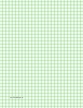 Bright Green Printer Paper - printable graph paper light green three quarter inch grid