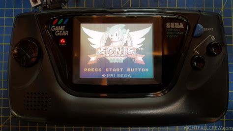 sega game gear led mod nightfall blog