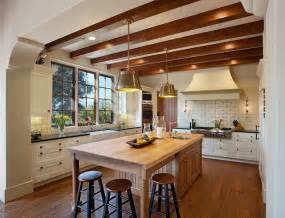 Spanish Style Kitchen Design by Hope Ranch Spanish Style Custom Home Kitchen