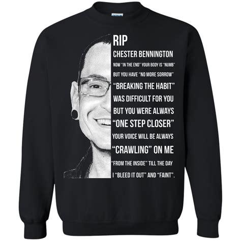 Linkin Park Sweater 02 Linkin Park Rip Chester Bennington Breaking The Habit T