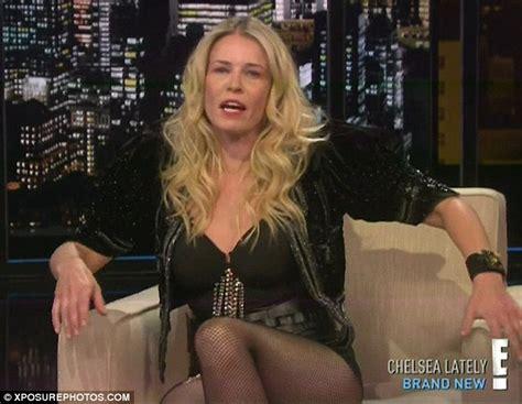 chelsea handler makes shocking joke in new interview daily chelsea handler dresses up as christina aguilera on her