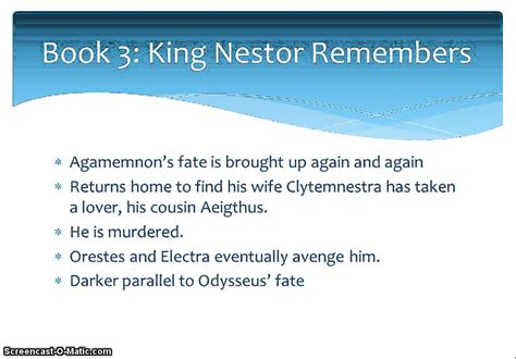 the odyssey book report odyssey books 3 and 4 summary