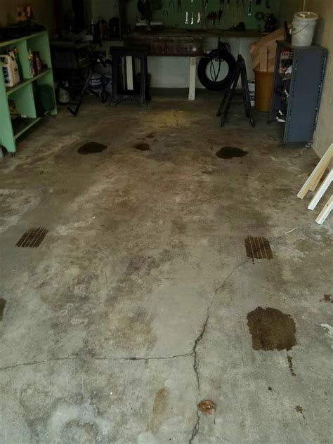 drainage   Garage Floor Drain Alternatives   Home