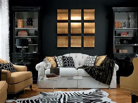 black painted rooms unique and modern paint ideas for living room decozilla