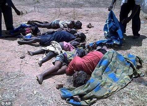 more than 500 people slaughtered in machete 'revenge