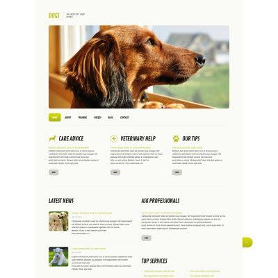 themes bootstrap pets wordpress dog themes