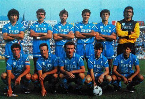 rosa pavia calcio brescia calcio 1985 1986